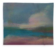 Dunes On The Horizon Fleece Blanket