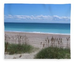 Dunes On The Outerbanks Fleece Blanket