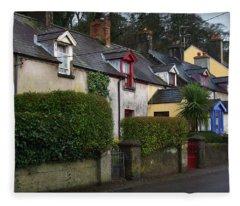 Dunmore Houses Fleece Blanket