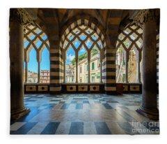 Duomo Di Amalfi Fleece Blanket