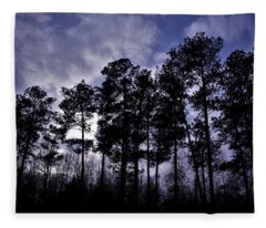 Dusk Settles Fleece Blanket