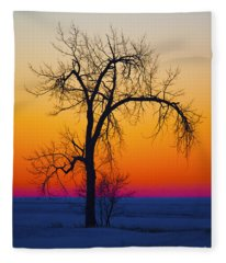 Dusk Surreal.. Fleece Blanket