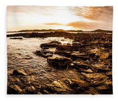 Dynamic Ocean Panoramic Fleece Blanket