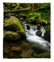 Eagle Creek Cascade Fleece Blanket