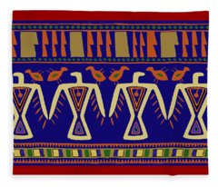Eagle Dancer Spirits Fleece Blanket