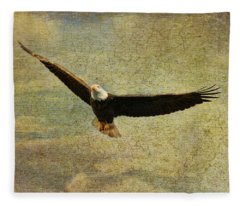 Eagle Medicine Fleece Blanket