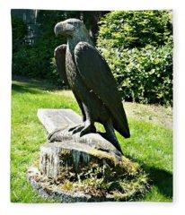 Eagle Totem Fleece Blanket