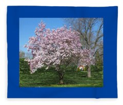 Early Blooms Fleece Blanket