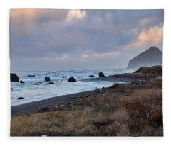 Early December Morning Fleece Blanket