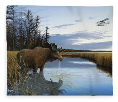 Early Flight Fleece Blanket