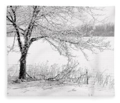 Early Frost Fleece Blanket