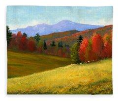 Early October Fleece Blanket