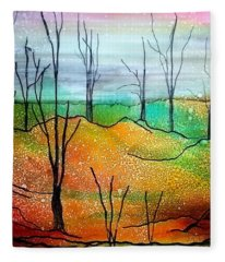 Early Spring Fleece Blanket