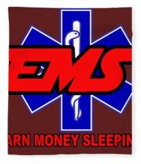 Earn Money Sleeping Fleece Blanket