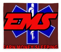 Earn Money Sleeping Fleece Blanket