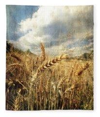 Ears Of Corn Fleece Blanket