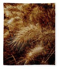 Earth Grass 1 Fleece Blanket