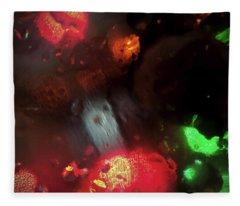 Earth Intruders Fleece Blanket