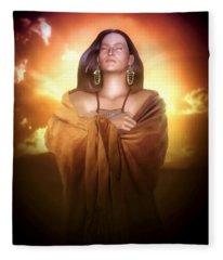 Earth Mother Fleece Blanket
