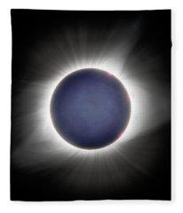Earth-shine Fleece Blanket