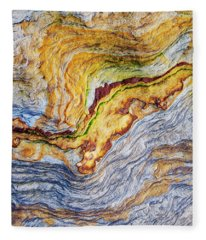 Earth Stone Fleece Blanket