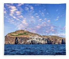 East Anacapa Island Fleece Blanket