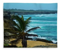 East Coast Bay Fleece Blanket
