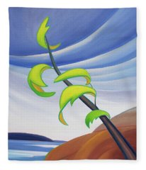 East Wind Fleece Blanket