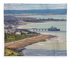 Eastbourne - England Fleece Blanket