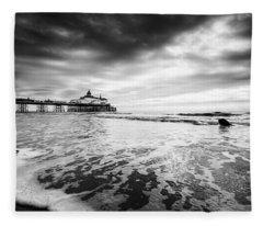Eastbourne Pier Fleece Blanket
