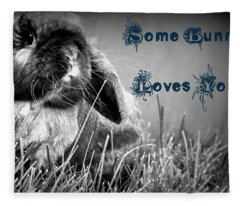 Easter Card Fleece Blanket