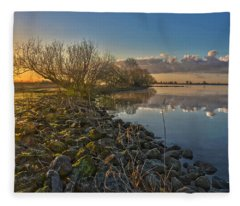 Easter Sunrise Fleece Blanket