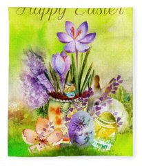 Easter Time Fleece Blanket