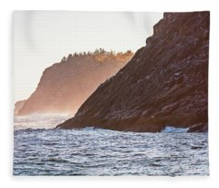Eastern Coastline Fleece Blanket