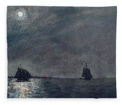 Eastern Point Light Fleece Blanket