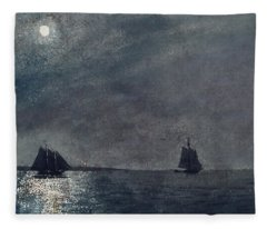 Eastern Point Light Fleece Blanket