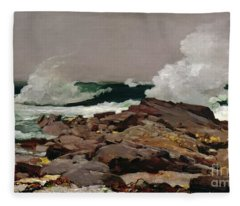 Eastern Point Fleece Blanket