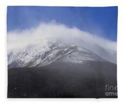 Eastern Slopes Of Mount Washington New Hampshire Usa Fleece Blanket