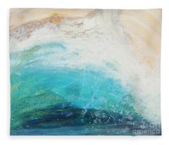 Ebb And Flow Fleece Blanket