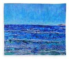 Ebbing Tide Fleece Blanket