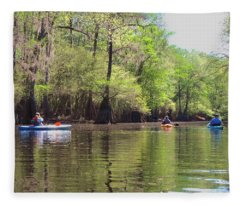 Ebenezer Creek Fleece Blanket