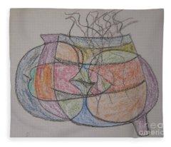 Eccentric Fleece Blanket