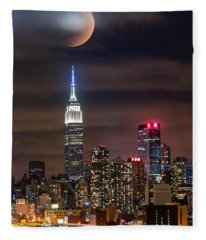 Eclipse Fleece Blanket