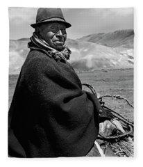 Ecuador_3-2 Fleece Blanket