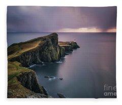 Edge Of Destiny Fleece Blanket