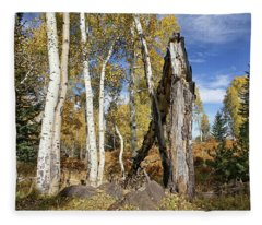 Edge Of The Woods Fleece Blanket