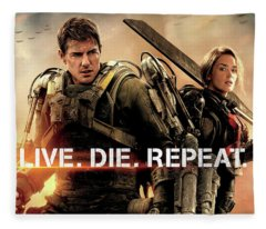 Edge Of Tomorrow Fleece Blanket