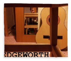 Edgeworth Acoustic Guitar Fleece Blanket