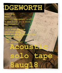Edgeworth Acoustic Solo Tape H Fleece Blanket