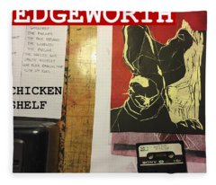 Edgeworth Chicken Shelf Cover Fleece Blanket